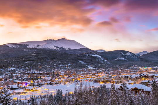 Win $5000 credit for a vacation to Breckenridge Giveaway Image