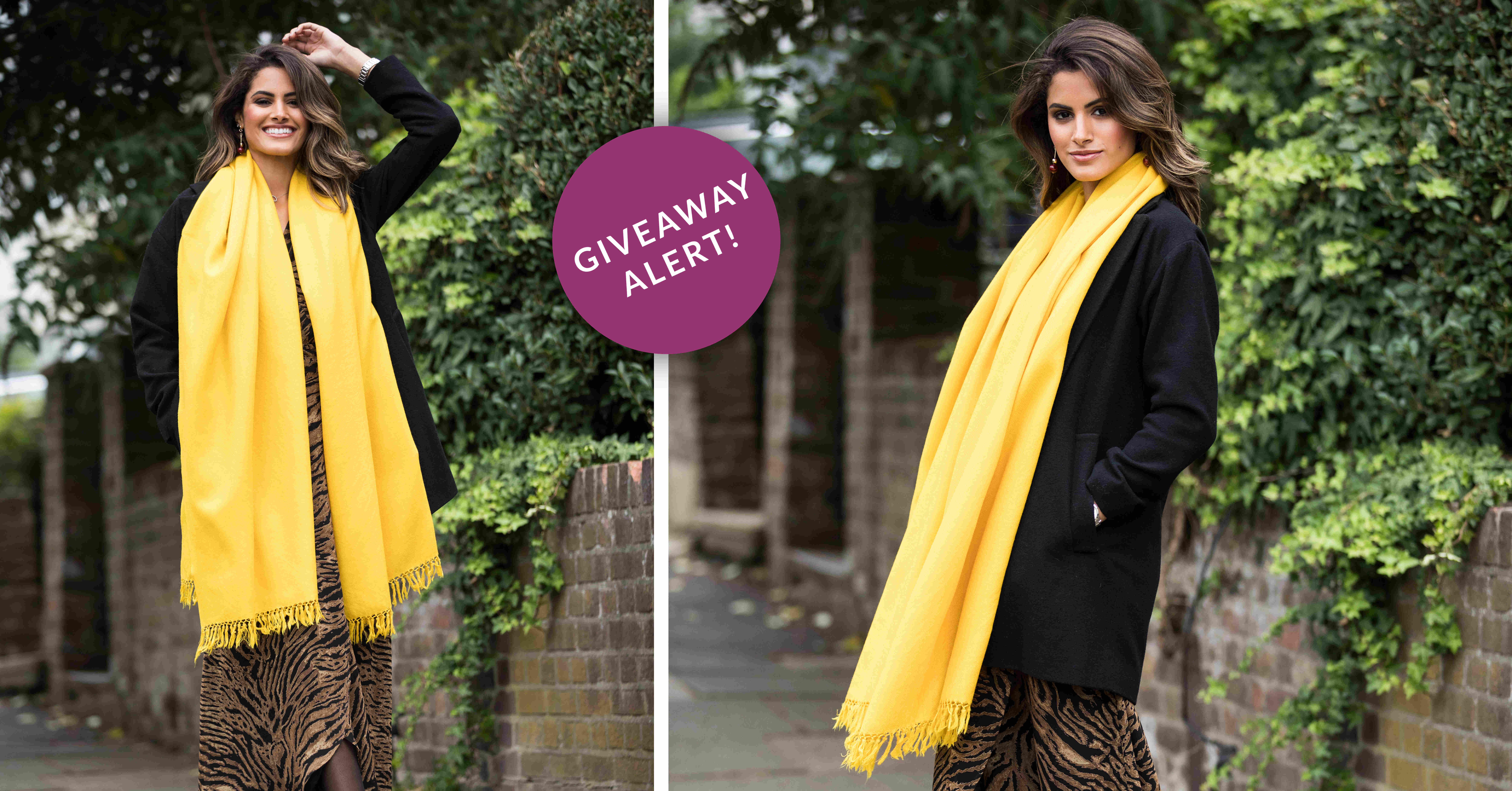 online contests, sweepstakes and giveaways - ☀WIN a likemary Kasa scarf in Inca Yellow!