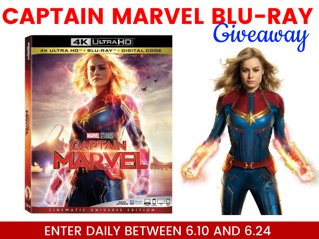 Win Captain Marvel Blu-ray Giveaway Image