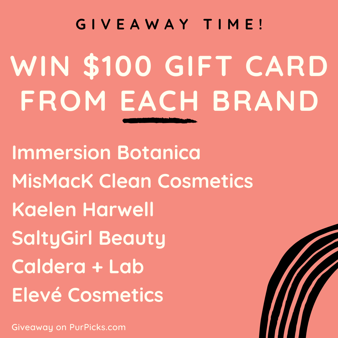 $600 Clean Beauty Awards Giveaway Giveaway Image