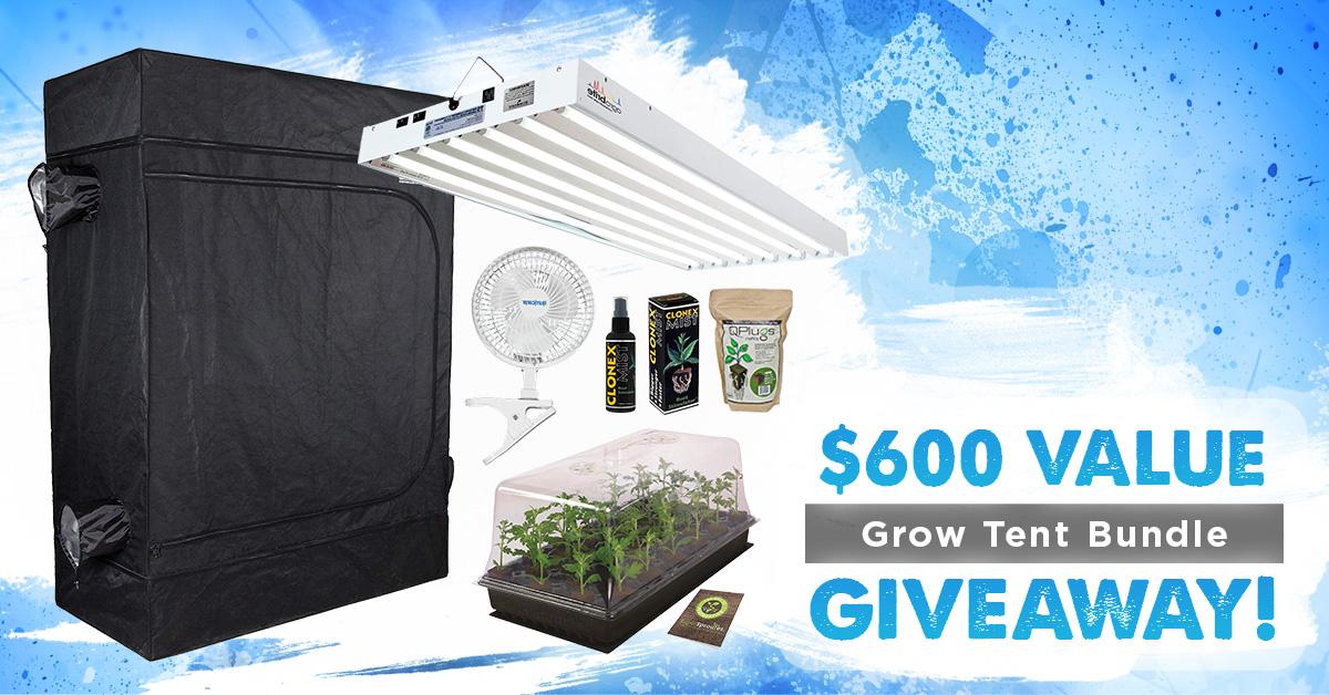Win A Grow Tent Bundle ($600 Value)