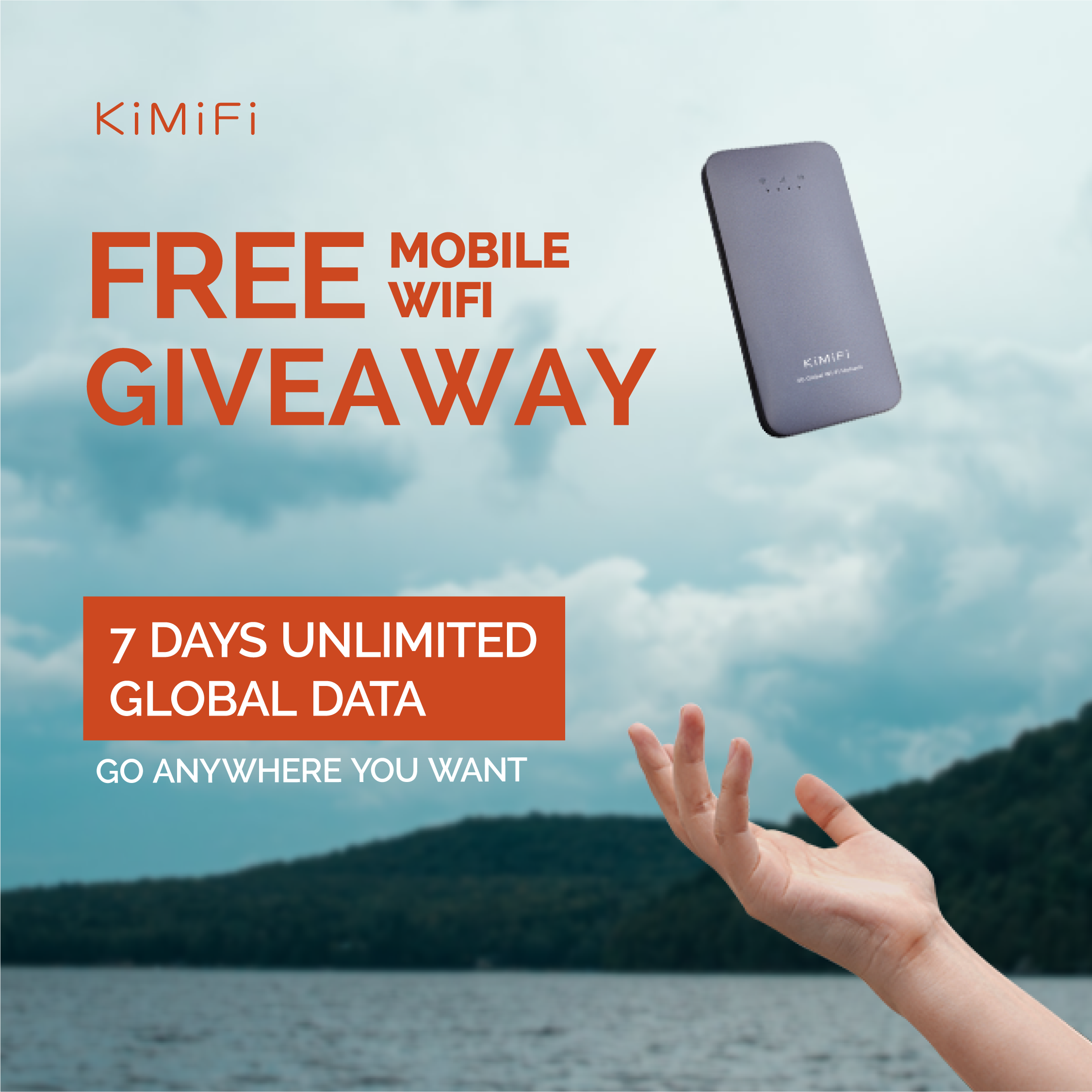 Enter to win a portable 4G internet hotspot Giveaway Image