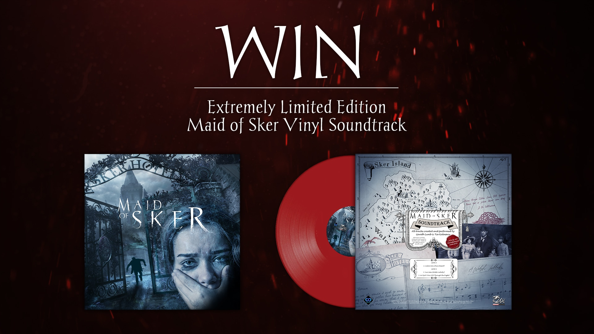 Extremely Limited Edition Maid of Sker Game Vinyl Soundtrack Giveaway Giveaway Image