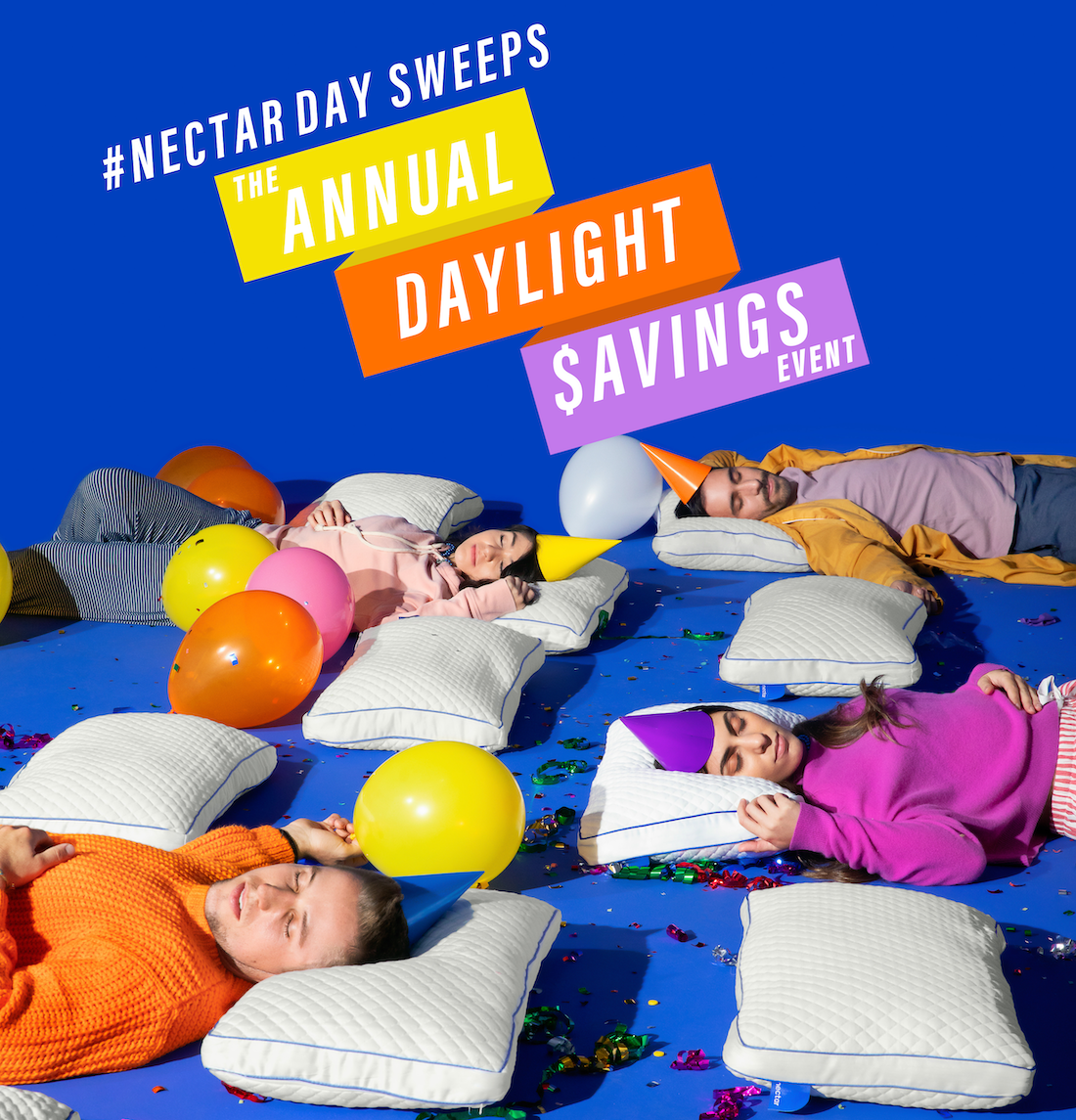NECTAR�S �THE ANNUAL SLEEP-IN SWEEPSTAKES� 2020! Be one of 25 people to win a $25 Nectar mattress! Giveaway Image