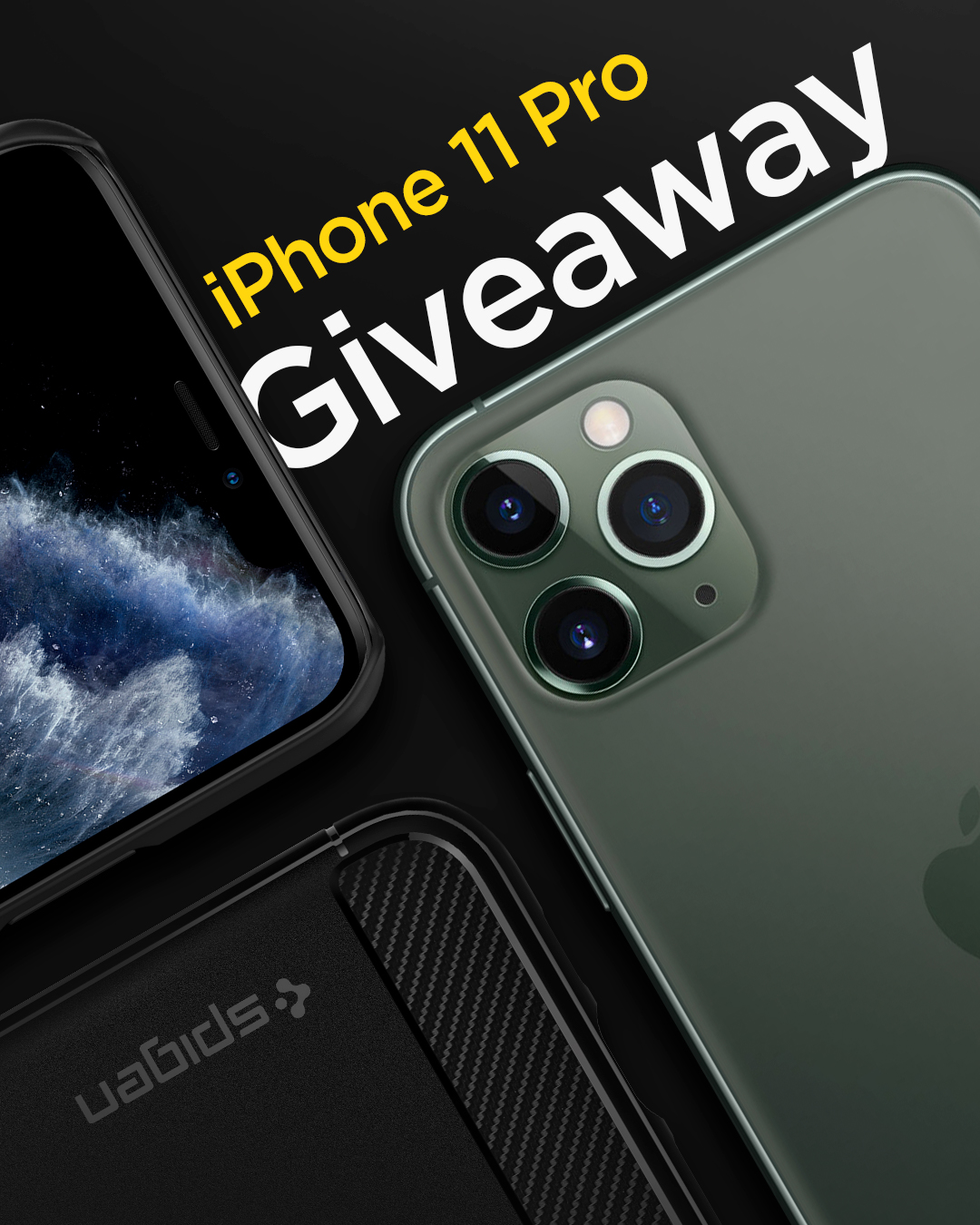 Spigen Canada iPhone 11 Pro Giveaway Image
